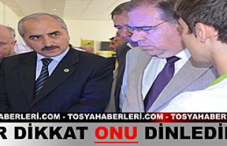 Tosya Anadolu Öğretmen Lisesi Bilim Fuarı Açıldı