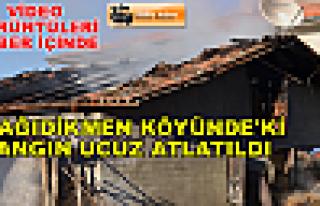 Tosya Aşağıdikmen Köyünde Yangın çıktı (...