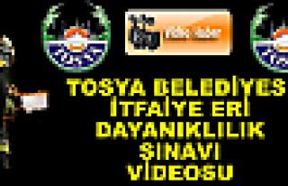 Tosya Belediyesi İtfaiye Eri Sınavı