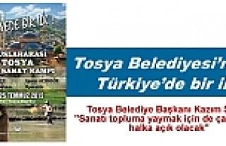 TOSYA BELEDİYESİN'DEN TÜRKİYE'DE BİR...