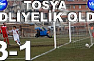 Tosya Belediyespor : 1 - 3 Ankara Adliyepor