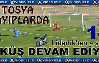 Tosya Belediyespor Sincan'a 1-2 Mağlup Oldu