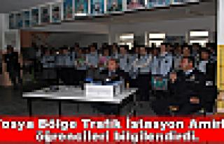 Tosya Bölge Trafik İstasyon Amirliği öğrencileri...