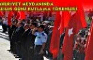 Tosya Cumhuriyet Meydanı GAZİLER GÜNÜ KUTLAMA...