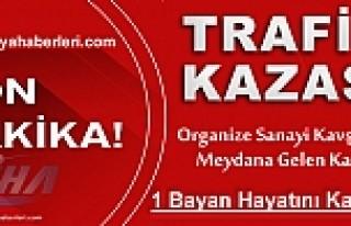 TOSYA D-100'DE TRAFİK KAZASINDA 1 KİŞİ HAYATINI...