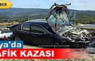 TOSYA D-100'DE TRAFİK KAZASINDA 3 KİŞİ ÖLÜMDEN...