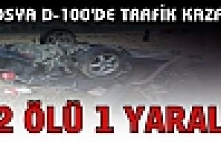 Tosya D-100'de Trafik Kazasında 2 Kişi ÖLDÜ