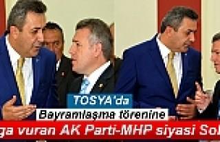 TOSYA'DA BAYRAMLAŞMA TÖRENİNE DAMGA VURAN...