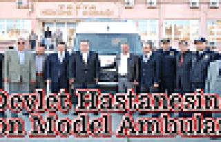 Tosya Devlet Hastanesine Son Model Ambulans Teslim...