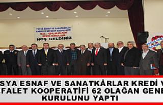 TOSYA ESNAF VE SANATKÂRLAR KREDİ VE KEFALET KOOPERATİFİ...