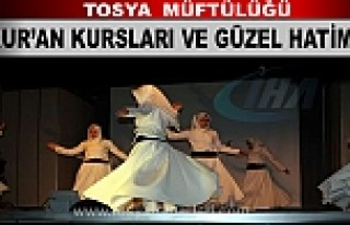 TOSYA KUR'AN KURSLARI VE GÜZEL HATİME