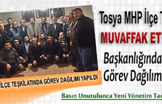 Tosya MHP'de Görev Dağılımı