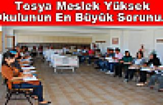 Tosya MYO'nun En Büyük Sorunu