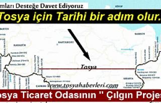 TOSYA TİCARET ODASININ ''ÇILGIN PROJESİ ''