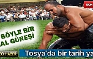 TOSYA YAĞLI GÜREŞLERİNDE 2014 VE 2015 KIRKPINAR...