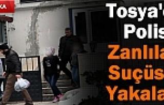 TOSYA'DA 3 BAYAN HIRSIZ SUÇÜSTÜ YAKALANDI