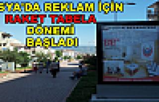 Tosya'da Billboard Raket Tabela Dönemi Başladı