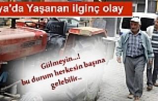 TOSYA'DA DALGIN SÜRÜCÜ TRAKTÖR ÇALINDI DİYE...
