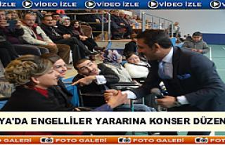 TOSYA'DA ENGELLİLER YARARINA KONSER DÜZENLENDİ
