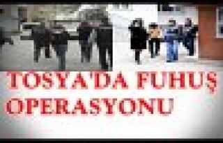 TOSYA'DA FUHUŞ OPERASYONU