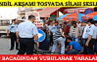 Tosya'da Kandil Akşamı Silahla Yaralama 1 Yaralı
