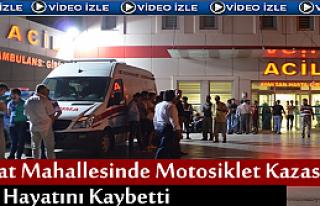 Tosya'da Motosiklet Kazasında 1 kişi Hayatını...
