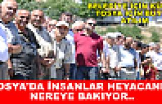 Tosya'da Pazar Yerinin Temali atıldı