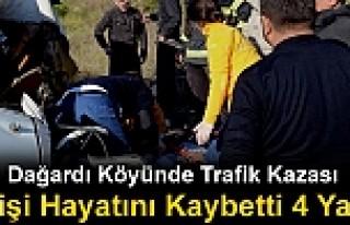TOSYA'DA TRAFİK KAZASI 1 KİŞİ ÖLDÜ 4 KİŞİ...