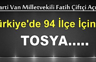 Türkiye'de 94 İlçeye