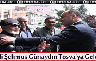VALİ ŞEHMUS GÜNAYDIN TOSYA'DA