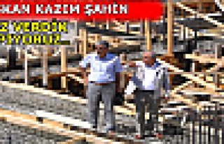 YENİ SEBZE PAZARININ OTOPARK TEMELİ ATILDI
