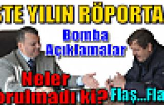 Yılın Röportajı : Tosya TSO Başkanı Mesut Güvercin'den...
