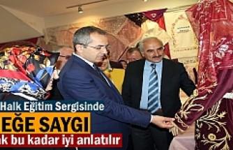 Tosya Halk Eğitim Merkez yıl sonu sergisi törenle açıldı.