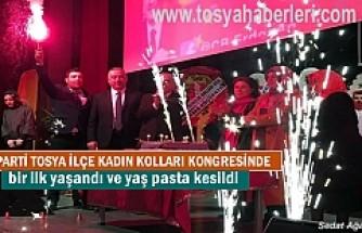 Ak Parti Tosya İlçe Kadın Kolları 5. Olağan Kongresini yaptı