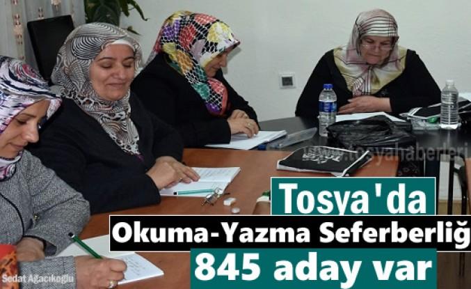 Tosya'da Okuma-Yazmayı Öğrenen 5 kişi Umre'ye gönderilecek