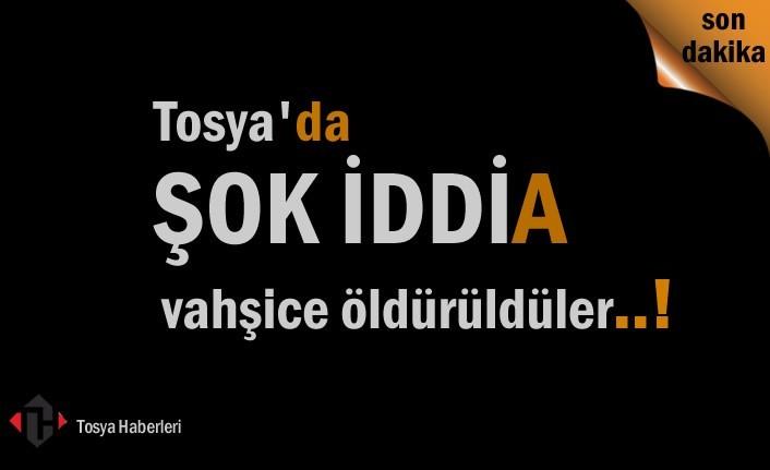 Tosya'da Şok İddia 3'de ölü bulundu