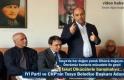 CHP KASTAMONU MİLLETVEKİLİ HASAN BALTACI TOSYA ZİYARETİ