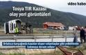 Tosya TIR Kazası Olay Yeri Görüntüleri
