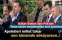 Gençlik ve Spor Bakanı Osman Aşkın Pak Tosya'da Mitingde Konuştu