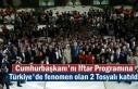 Cumhurbaşkanı Recep Tayyip Erdoğan'ın İftar...