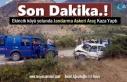 Tosya'da Jandarma Askeri Araç Otomobil ile Çarpıştı