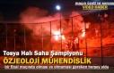 Tosya Halı Saha Turnuvası Final Maçında Futbol...