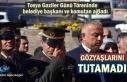Tosya'da Gaziler gününde Belediye Başkanı ve...