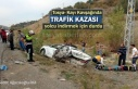 Tosya'da Trafik Kazasında 7 kişi Yaralandı