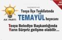 AK Parti Tosya İlçe Teşkilatı Belediye Başkanlığı...