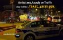 Tosya İlçe Merkezinde Trafik Kazası