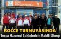 Tosya Huzurevi Bocce Takımı Sinop Huzurevi Takımına...