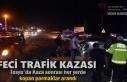 Tosya'da Trafik Kazası sonrası kopan Parmak...