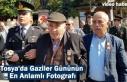 Tosya'da Gaziler Gününün En Anlamlı Karesi