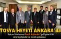 Tosya Heyeti Dışişleri Bakan Yardımcısı ve Avrupa...